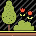 gardening, plant, garden, landscaping, tree