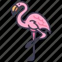animal, bird, decoration, flamingo, garden, nature icon