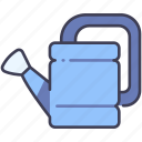 can, equipment, garden, gardening, plant, tool, water icon