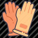 equipment, garden, gardening, glove, gloves icon