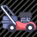 cut, garden, gardener, gardening, grass, lawn, mower