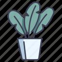 decoration, garden, leaf, plants, pot, potted icon