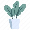 garden, decoration, potted, pot, plants, leaf icon