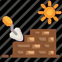 brick, eco, ecology, garden, nature, wall