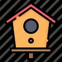 birdhouse, bird, house, home, pet