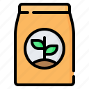 seed, bag, package, agriculture, gardening