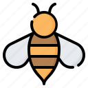 bee, wasp, insect, honey, animal