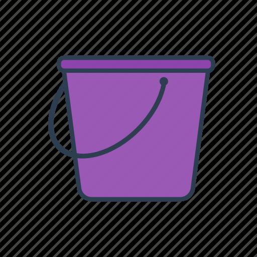 beach, bucket, gardening, pail, sand icon