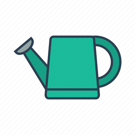 garden, gardening, water, watering can icon