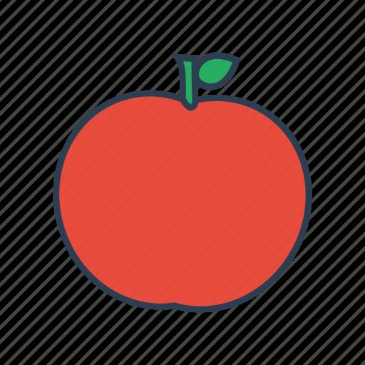 apple, food, fruit, gardening, healthy icon