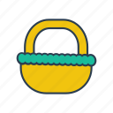 bag, basket, buy, gardening, shop icon