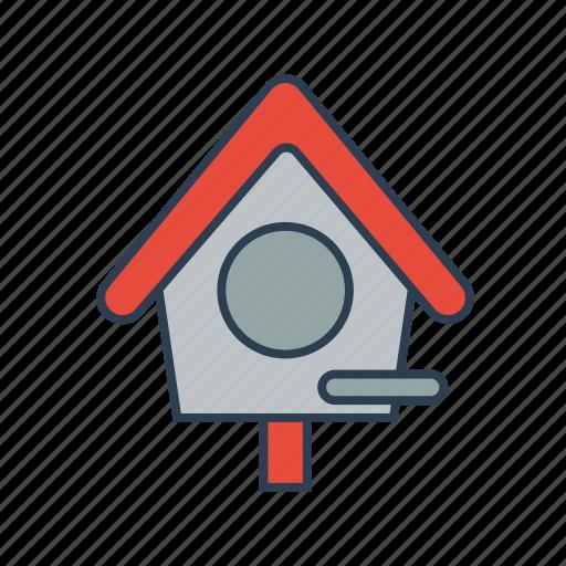 bird, bird house, birdhouse, gardening icon