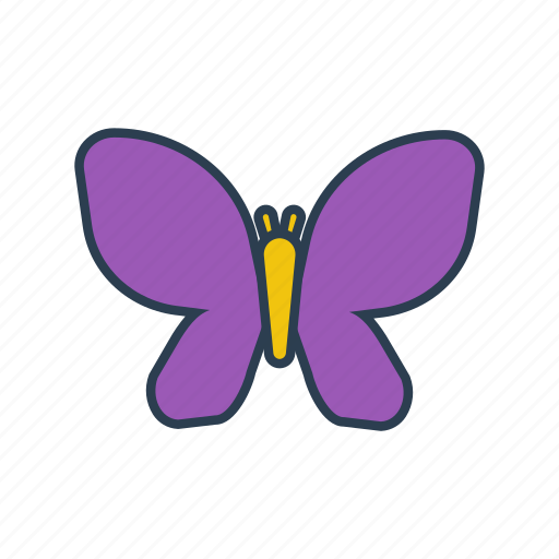 butterfly, environment, gardening, insect, nature, wings icon