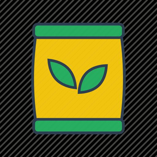 fertilizer, garden, gardening, green, growth, leaves, plant icon