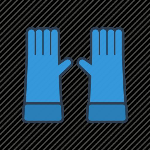 cold, gardening, glove, gloves, hands, winter icon