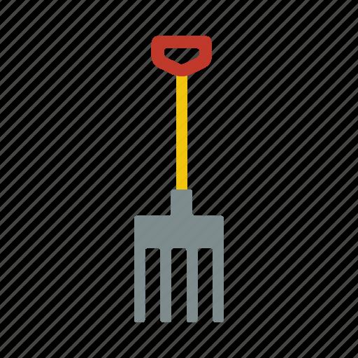 fork, gardening, gardening tools, tools icon