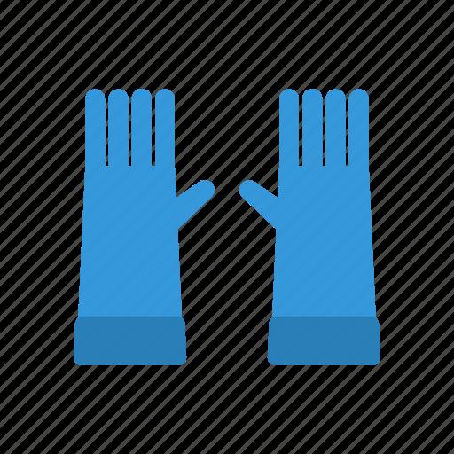 gardening, glove, gloves, hands, winter icon