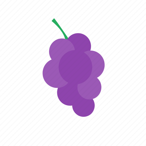 food, fruits, gardening, grapes, health, healthy icon