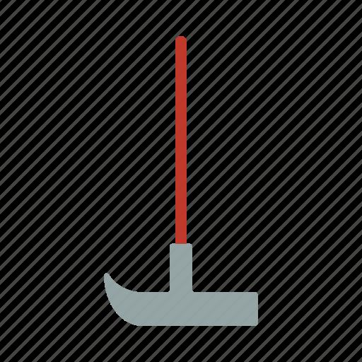 gardening, gardening tools, mattock, mattock and pick, mining, pick, tool icon