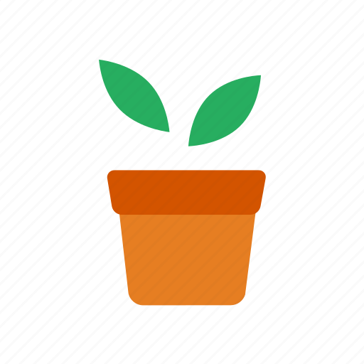 gardening, green, growth, leaves, nature, plant, pot icon