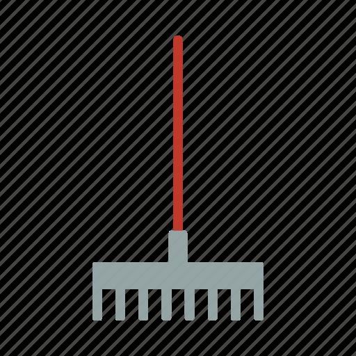 farm, farming, garden, gardening, gardening tools, rake, tool icon
