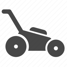 equipment, garden, gardening, lawn, lawn mower, tool, vehicle icon