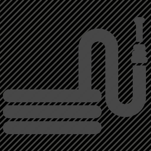 equipment, garden, gardening, hose, hoses, soaker hose, tool icon