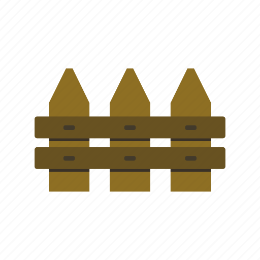 fence, garden, gardening, house, wood icon
