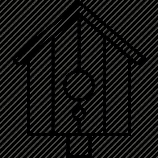 bird, birdhouse, garden, home, house, tree house icon