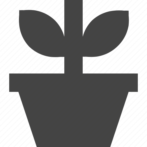 flower, gardem, outdoor, plant, pot icon