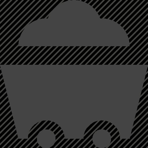 gardem, outdoor, plant, wheelbarrow icon