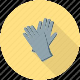 garden, gardening, glove, gloves, green, hand, work icon