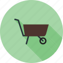 barrow, cart, garden, gardening, plastic, spade, wheelbarrow