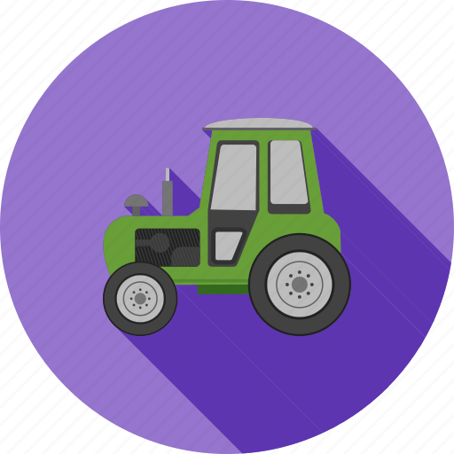 agriculture, crop, farm, field, food, plant, tractor icon