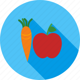 food, fruit, fruits, green, healthy, vegetable, vegetables icon