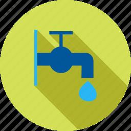 environment, garden, green, outdoor, tap, water, yard icon