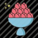bouquet, flowers, garden, nature