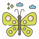butterfly, insect, nature