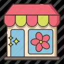 flower, shop, shopping, store