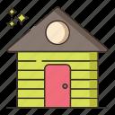 farm, garden, shed