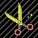 cut, scissors, tool
