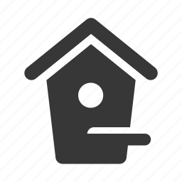 birdhouse, garden, gardening, green thumb, landscaping, park, raw, simple icon