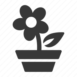 flower, garden, gardening, green thumb, growing, landscaping, park, plant, raw, simple icon
