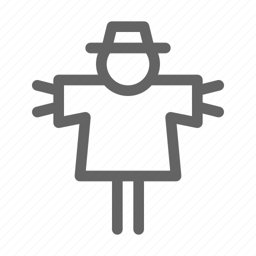 Agriculture, farm, scarecrow icon - Download on Iconfinder