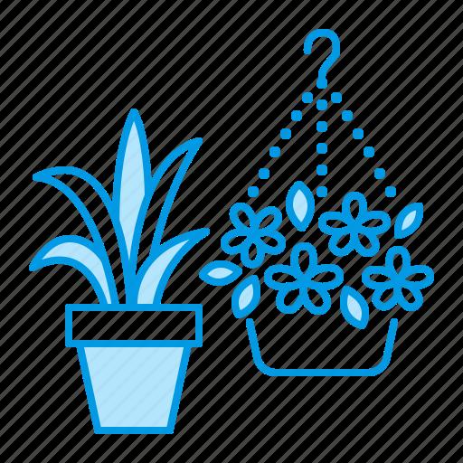 flower, gardening, plant, pot icon