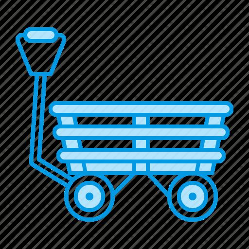 agriculture, cart, garden, gardening icon