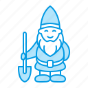 garden, gardening, gnome icon