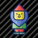 dwarf, garden, gardening, gnome icon