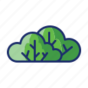 bush, greens, plants, shrub icon