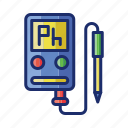 meter, ph, soil icon
